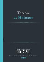 TERROIR EN HAINAUT 2017