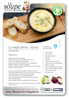 La soupe poires-navets