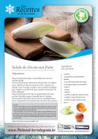 Salade de chicons aux fruits